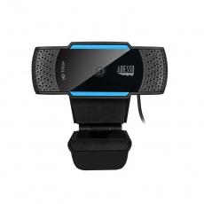 ADESSO webkamera CyberTrack H5 (1080P HD Auto Focus, duální mikrofon, bezpečnostní záklopka)