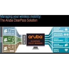 Aruba ClearPass New Licensing Access 500 Concurrent Endpoints E-LTU