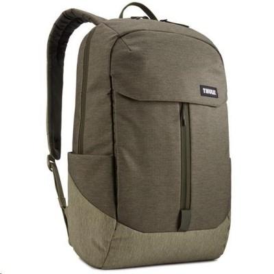 """THULE batoh Lithos pro notebook 15.6"""", tmavě zelená/lišejníková"""
