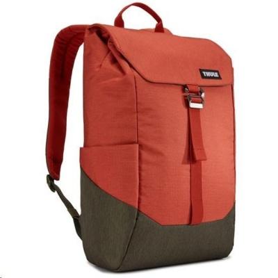 "THULE batoh Lithos pro Macbook 15"", rooibos/tmavě zelená"