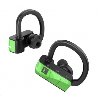 ADATA Earphones ERATO RIO 3 True (Green), Wireless Sport, Bluetooth sluchátka