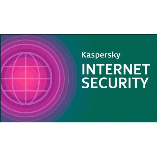 Kaspersky Internet Security 2019 CZ, 1 zařízení, 3 roky, nová licence, elektronicky