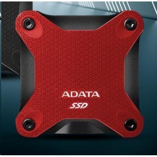 ADATA External SSD 480GB ASD600Q USB 3.1 červená