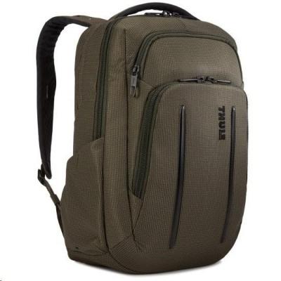 """THULE batoh Crossover 2 pro notebook 14"""", 20 l, tmavě zelená"""