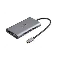 ACER 12v1 Type C dongle: 2 x USB3.2, 2 x USB2.0, 1x SD/TF, 2 x HDMI, 1 x PD, 1 x DP, 1 x RJ45, 1 x 3.5 Audio