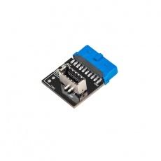 CHIEFTEC interní adaptér z USB 3.1 Gen2 na Gen1