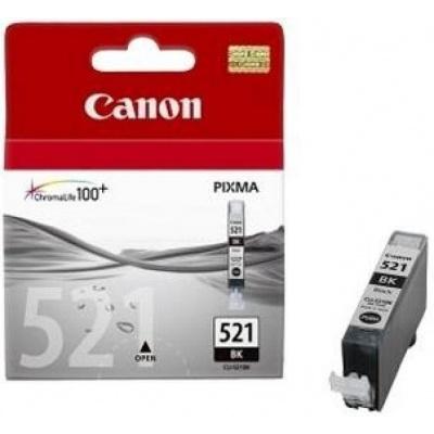 - černá inkoustová náplň CANON CLI-521BK (CLI521BK)