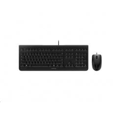 CHERRY set klávesnice + myš DC 2000, USB, EU, černá
