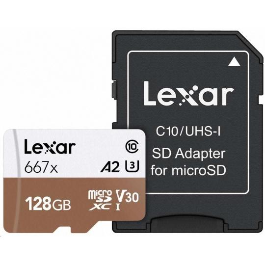 Lexar microSDXC 128GB High-Performance 667x