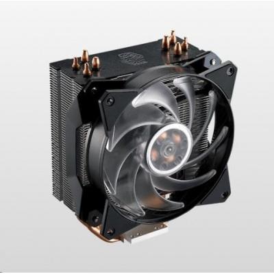 Cooler Master chladič MasterAir MA410P, 120mm, 4 Heat Pipes, RGB