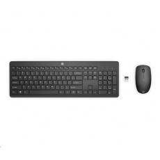HP 230 Wireless Keyboard & Mouse Cz / Sk combo - bezdrátová klávesnice a myš