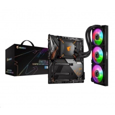 GIGABYTE MB Sc LGA1200 Z490 AORUS MASTER WATERFORCE, Intel Z490, 4xDDR4, 1xHDMI, WI-FI