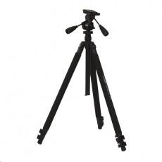 Doerr stativ PRO BLACK 3 XL (83-193 cm, 2680 g, max.5kg, 3D hlava dvě rukojeti)