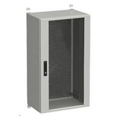 Solarix rozvaděč nástěnný venkovní LC-20 24U 600x500mm, dveře sklo, LC-20-24U-65-12-G