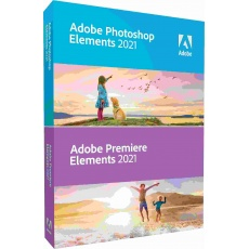 Photoshop/Premiere Elements 2021 CZ WIN STUDENT&TEACHER Edition BOX