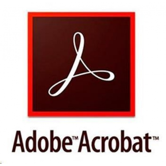 Acrobat Standard DC WIN Multi Euro Lang TM LIC SUB New 1 User Lvl 4 100+ Month