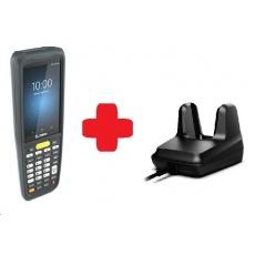 Zebra MC2700, 2D, SE4100, 3/32GB, BT, Wi-Fi, 4G, Func. Num., GPS, Android + cradle