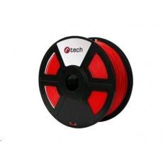 C-TECH Tisková struna (filament) ABS, 1,75mm, 1kg, červená