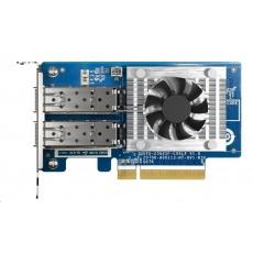 QNAP QXG-25G2SF-CX6 Síťová rozšiřující karta sítě 25 GbE se dvěma porty SFP28