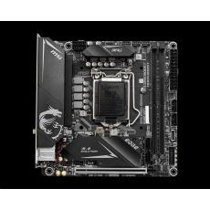 MSI MB Sc LGA1200 B460I GAMING EDGE WIFI, Intel B460, 2xDDR4, 1xDP, 1xHDMI, WI-FI, mini-ITX