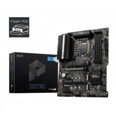 MSI MB Sc LGA1200 Z590-A PRO, Intel Z590, 4xDDR4, 1xDP, 1xHDMI