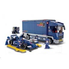 Sluban B-0357 F1 Kamion 641 dílků