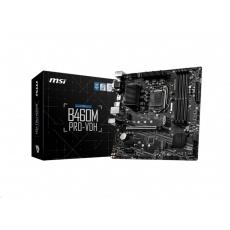 MSI MB Sc LGA1200 B460M PRO-VDH, Intel B460, 4xDDR4, 1xHDMI, 1xDVI, 1xVGA, mATX