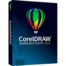 CorelDRAW Graphics Suite 2021 Enterprise License (includes 1Yr CorelSure Maintenance)(251+) EN/DE/FR/ES/BR/IT/CZ/PL/NL