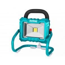 Total TFLI2002 světlo pracovní přenosné s podstavcem, 20V Li-ion, 2000mAh, LED, 20W, bez baterie a nabíječky