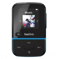 SanDisk Clip Sport Go MP3 Player 16GB, Blue