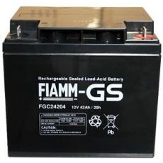 Baterie - Fiamm FG24204 (12V/42,0Ah - M6), životnost 5 let