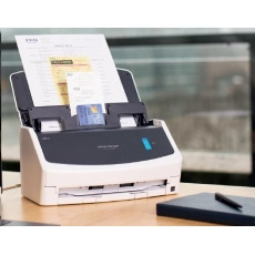 FUJITSU skener ScanSnap iX1400, A4, 40ppm, 600dpi, ADF 50listů, USB - vizitky, účtenky, dokumenty - DUALSKEN