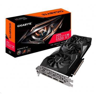 GIGABYTE VGA AMD Radeon RX 5500 XT GAMING OC 4G, 4GB GDDR6, 1xHDMI, 3xDP