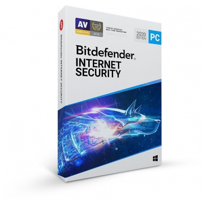 Bitdefender Internet Security- 1PC na 2 roky- elektronická licence do emailu