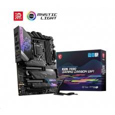 MSI MB Sc LGA1200 MPG Z590 GAMING CARBON WIFI, Intel Z590, 4xDDR4, 1xDP, 1xHDMI, WI-FI