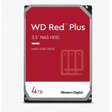 WD RED PLUS NAS WD40EFZX 4TB SATAIII/600 128MB cache 175 MB/s CMR