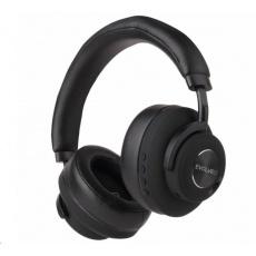EVOLVEO bezdrátová sluchátka SupremeSound 4ANC, ANC, černá