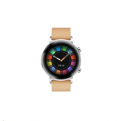 Huawei Watch GT 2, 42 mm, béžová