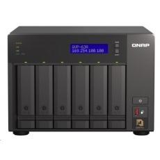 QNAP QVP-63A (4C/i3-8100T/3,1GHz/16GBRAM/6xSATA/2xM.2/1xUSB3.0/4xUSB3.1/1xHDMI/2xGbE/2xPCle/kamery: 8 (max36)