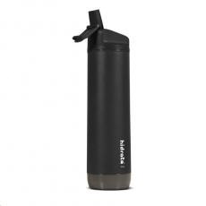 HidrateSpark Steel – chytrá lahev, 620 ml, černá
