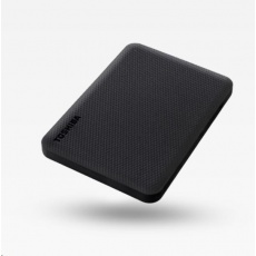"TOSHIBA HDD CANVIO ADVANCE (NEW) 4TB, 2,5"", USB 3.2 Gen 1, černá / black"