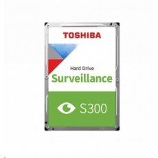 "TOSHIBA HDD S300 Surveillance (CMR) 1TB, SATA III, 5400 rpm, 128MB cache, 3,5"", BULK"