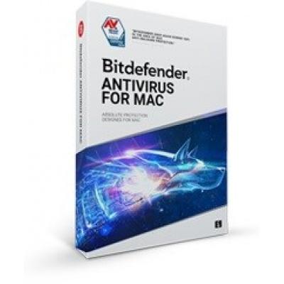 Bitdefender Antivirus  for Mac - 3 MAC na 1 rok- elektronická licence do emailu