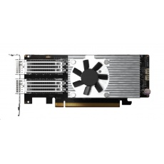 QNAP QXG-100G2SF-E810 Síťová rozšiřující karta sítě 100 GbE se dvěma porty QSFP28