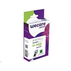 WECARE ARMOR páska pro DYMO S0720590, černá/zelená, 12mm x 7m