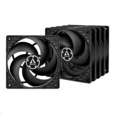 ARCTIC ventilátor P12 120mm, value pack (5ks), černá
