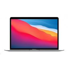 APPLE MacBook Air 13'',M1 chip with 8-core CPU and 7-core GPU, 256GB,8GB RAM - Silver/SK