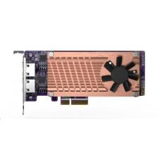 QNAP QM2-2P2G2T rozšiřující karta 2xM.2 2280 SATA SSD, 2x2.5GbE, 4xPCle