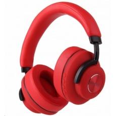 EVOLVEO bezdrátová sluchátka SupremeSound 4ANC, ANC, červená