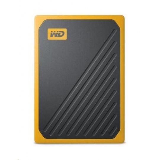 SanDisk WD My Passport Go externí SSD 500GB My Passport Go, USB 3.0 žlutá